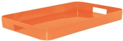 New Generation Gallery Tablett klein orange 33x26 cm