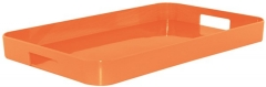 New Generation Gallery Tablett gross orange 53x34 cm