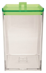 MeeMe Vorratsdose large transparent/grün 2,4 l