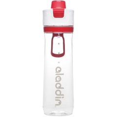 Active Hydration Tracker Flasche, 0.8 l, rot