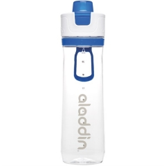 Active Hydration Tracker Flasche, 0.8 l, blau