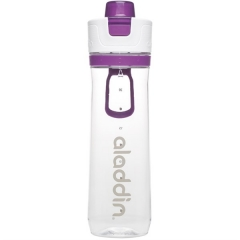 Active Hydration Tracker Flasche, 0.8 l, violett