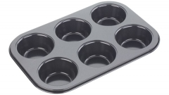 Backform 6er Muffin, 26.5x18x3 cm, Antihaft