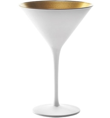 Olympic Cocktailschale 240ml weiss/gold