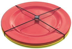 BBQ Salatteller 4er Set hot pop Ø24 cm