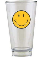 Smiley Klassik Becher transparent 33 cl