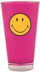 Smiley Klassik Becher fuchsia 33 cl