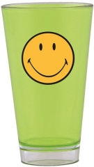 Smiley Klassik Becher grün 33 cl