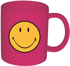 Smiley Klassik Tasse himbeere 35 cl