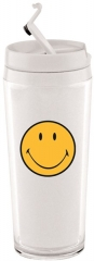 Mini Thermobecher Smiley weiss 20 cl