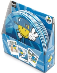 Smiley Kid Boy Teller blau 20 cm