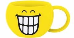 Smiley Teetasse, Emoticon breites Grinsen 30cl