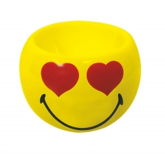 Smiley Eierbecher Emoticon love, Ø 6cm