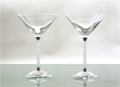 Cassini Martini 2er Set mit Glas - Diamanten