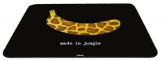 Pebbly Glasbrett Jungle Banane, braun 30x40 cm