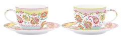 Gipsy 2er Set Kaffeetasse m. Untertasse in GB, 240 ml