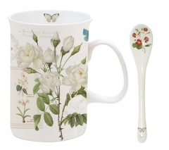 Naturalism 2er Set Teetasse m. Löffel 300 ml in GB