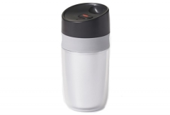 Single Travel Mug doppelwandig, silber, 0.28 lt