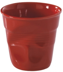 Cappuccino Knitterbecher 18 cl, rot