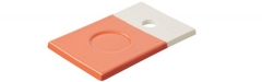 Color Lab Tablett rechteckig, 14x9x0.8 cm, orange