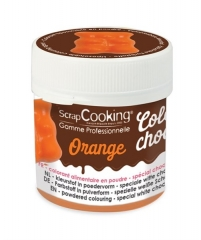 Farbpulver Choco, orange