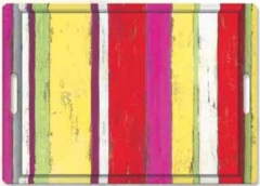 Stripes on Wood rot Tablettm. Griffen 45x31 cm
