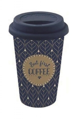 "Coffee Mania Becher m. Deckel in GB ""Coffee"", 350 ml"