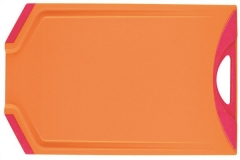 Kleon Schneidebrett orange/fuchsia 20.5x33cm
