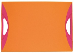 Kleon Schneidebrett orange/fuchsia 28x40.5cm