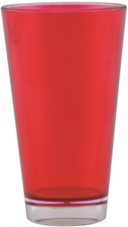 Tinted Becher rot 30 cl