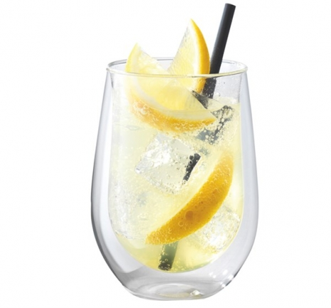 "Sorrento ""Bar"" Longdrink Glas doppelwandig, 2er Set, 296ml"