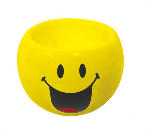 Smiley Eierbecher Emoticon happy, Ø 6cm