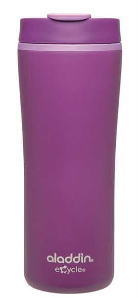 Recycled & Recyclable Becher, 0.35 l, violett