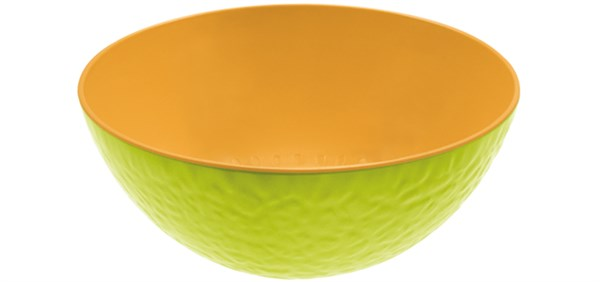 Duo Schüssel Melone kiwi/orange 20 cm
