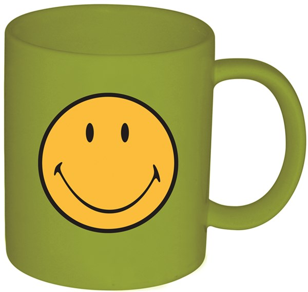 Smiley Klassik Tasse grün 35 cl