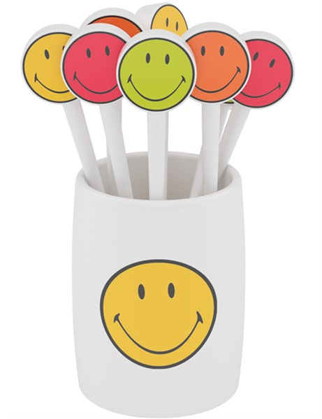 SMILEY Picks 8tlg-Set 8cm