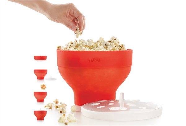 Pop Corn Maker, rot