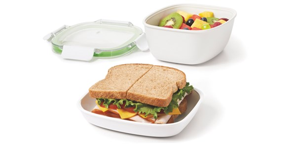 GG On-The-Go Salat Container, 20x12.7x10cm
