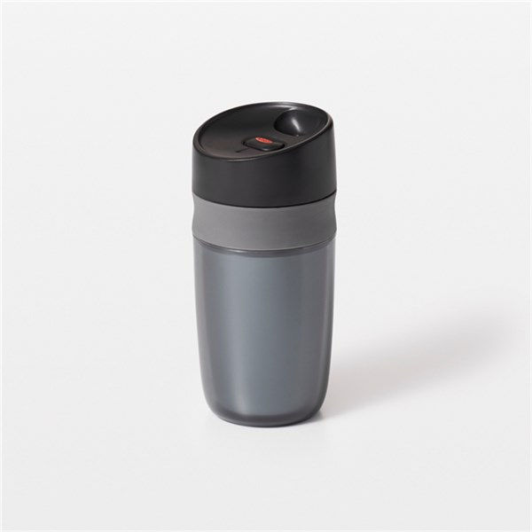 Single Travel Mug doppelwandig, graphite, 0.28 lt