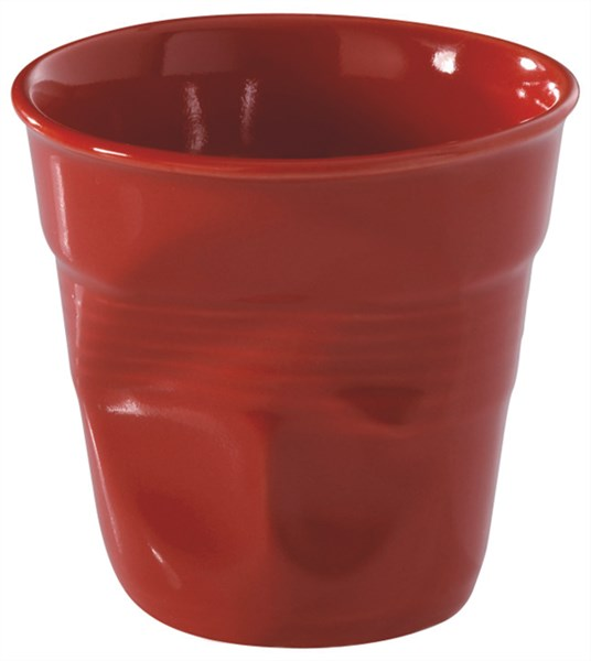 Espresso Knitterbecher 8 cl, rot